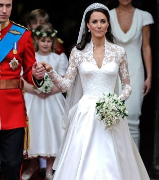 Congratulations to Kate, Wills… and Sarah Burton!  shell chicd