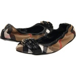 Burberry Bridel Housecheck Ballerina, $295