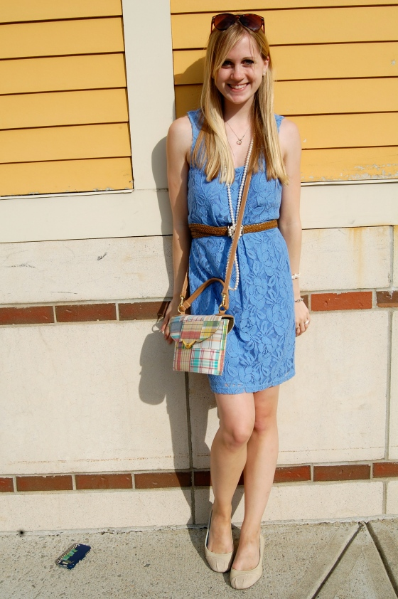 forever 21 blue lace dress