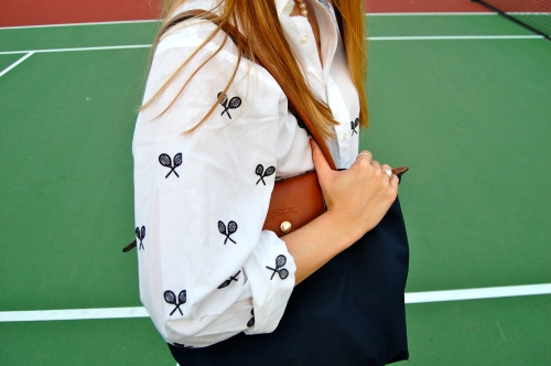 tennis racket shirt