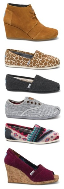 TOMS fall 2012