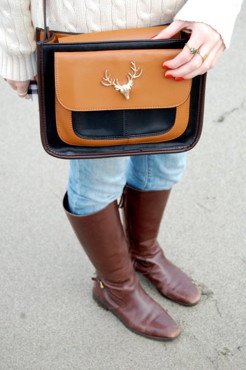 deer purse