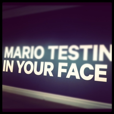 mario testino in your face