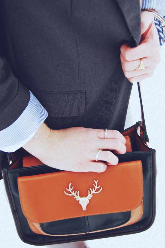 deer crossbody purse