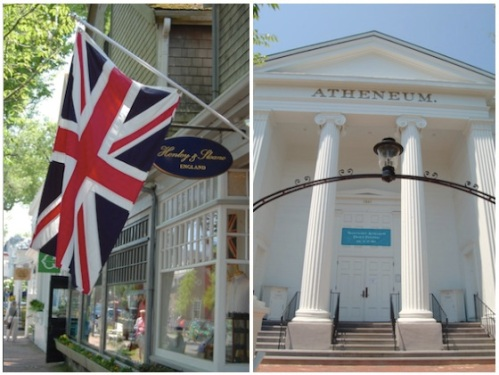 nantucket atheneum; henry and sloane