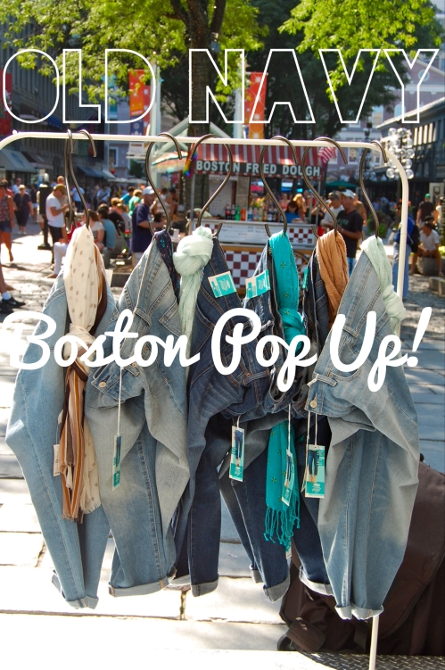 old navy boston pop up