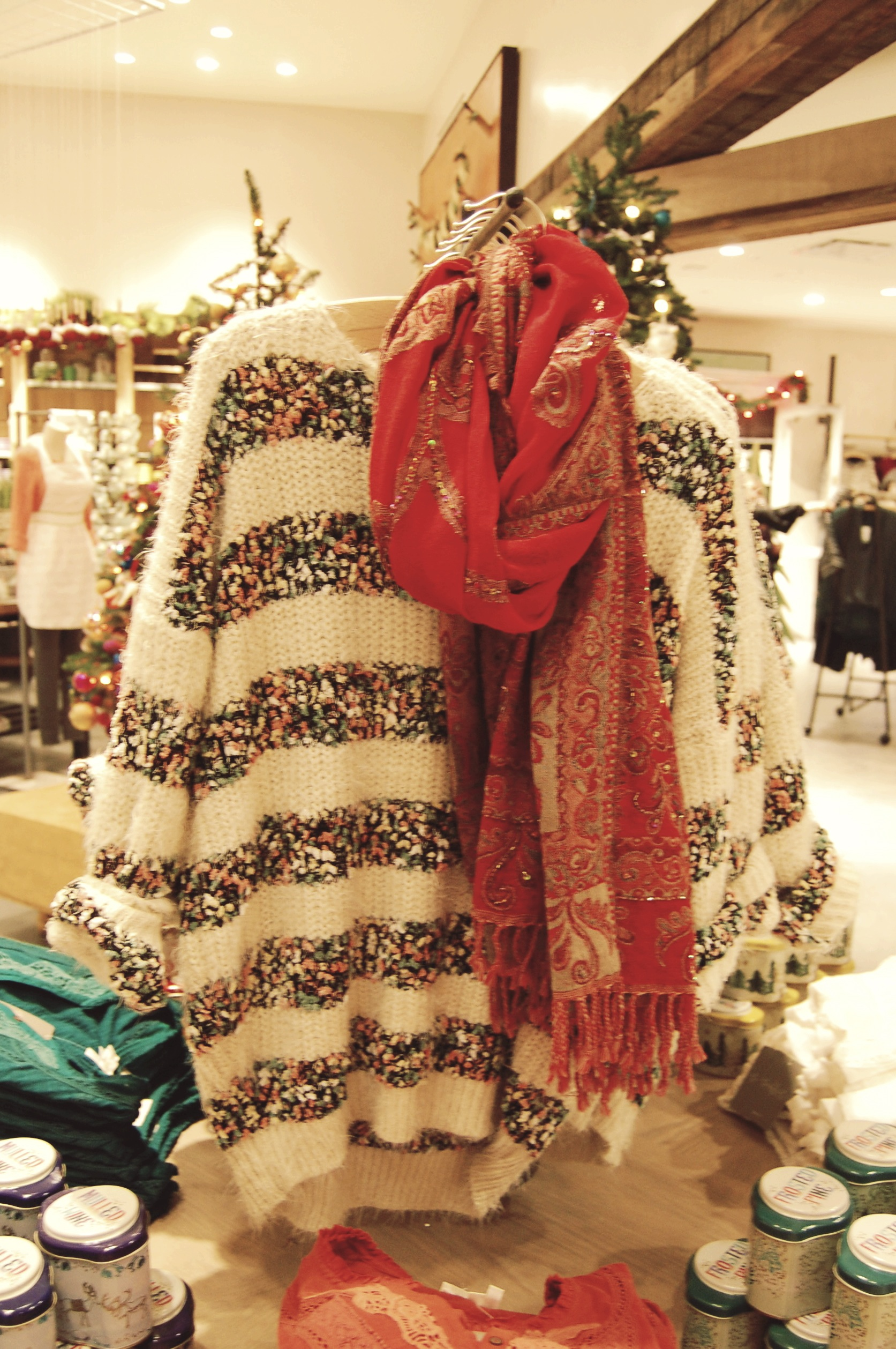 Holiday Cheer At Chestnut Hill S Anthropologie Shell Chic D