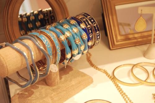 blue bangle bracelets