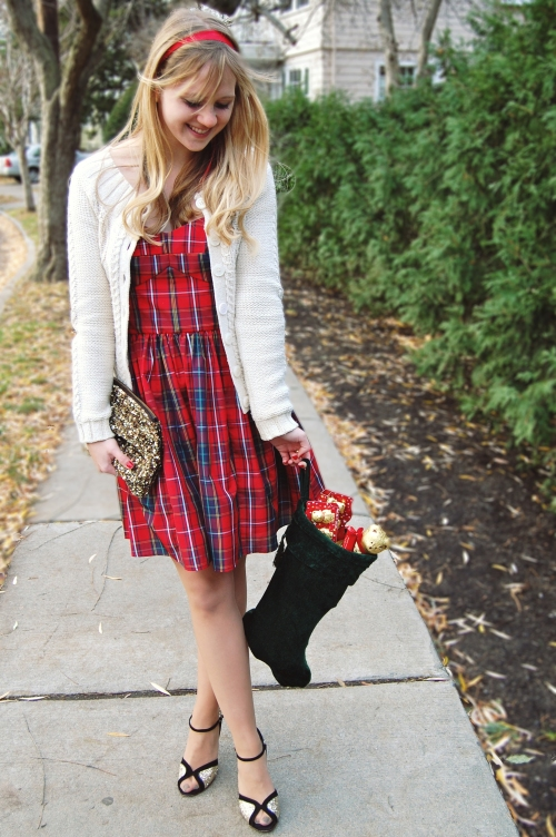 Jack Wills Plaid Charlton Dress