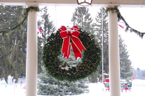 Christmas at Skytop Lodge
