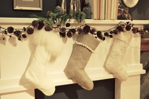West Elm Christmas Stockings