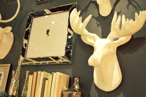 West Elm Deer Heads