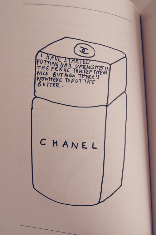 Chanel Nail Lacquer Sketch