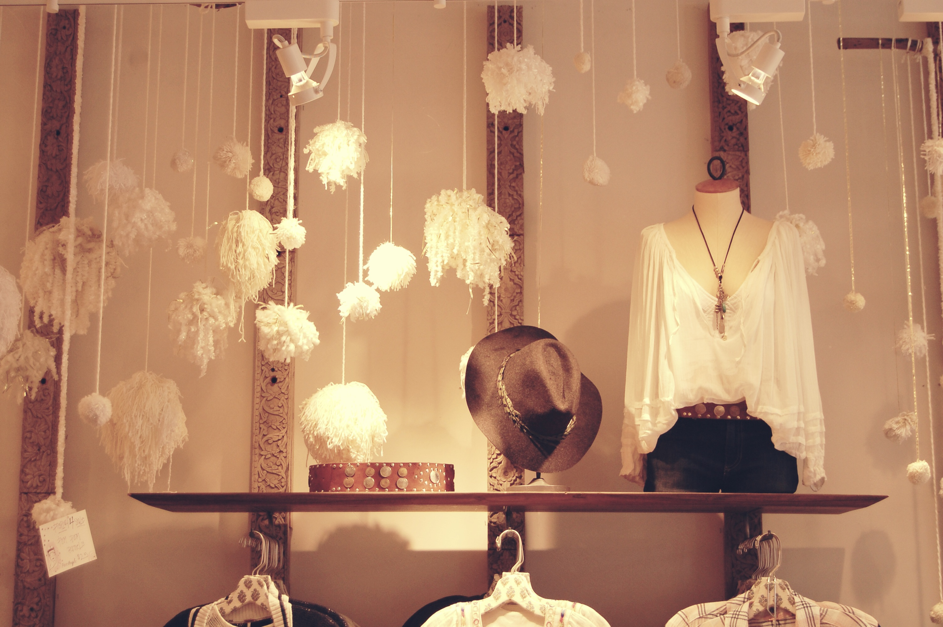 Free People Store Decor