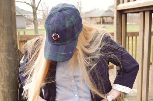 Blackwatch Plaid Baseball Cap