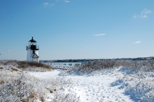 Lighthouses in Snow