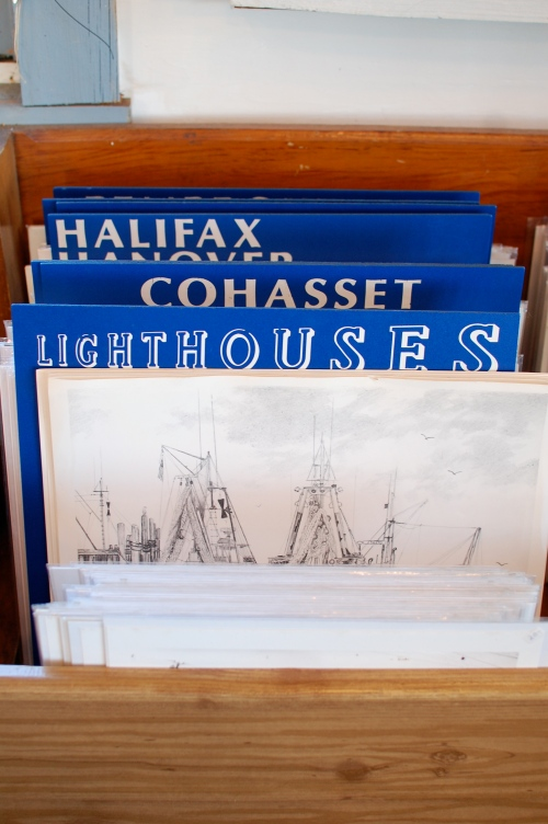 Vintage Lighthouse Prints