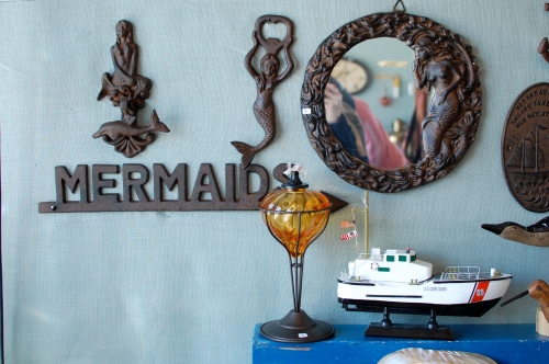 Mermaid Sign Wall Decor