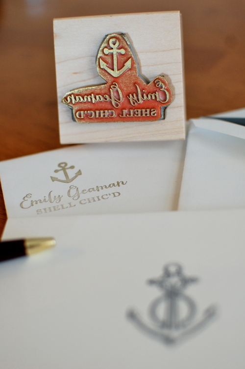 Custom Nautical Stationary