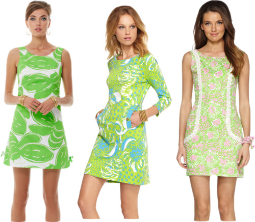Lilly Pulitzer Green Dresses