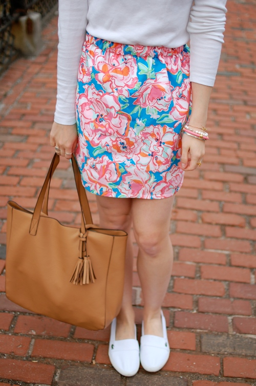 Lilly Pulitzer Fabric Skirt | Preppy Pink Shop Etsy