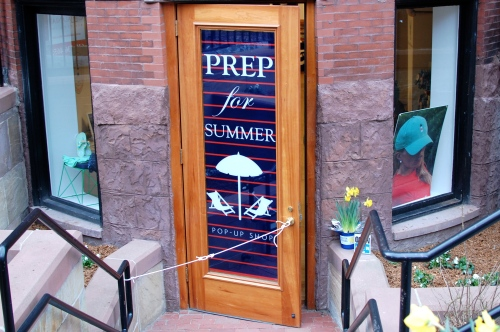 Newbury Street Pop-Up Shops Boston