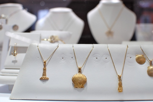 Nautical Gold Necklaces
