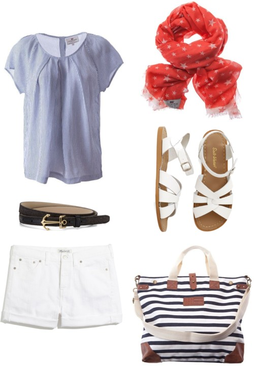New England 4th of July Outfit