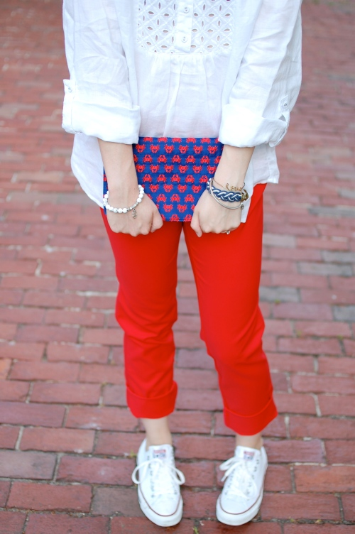 Shiraleigh Nautical Crab Clutch