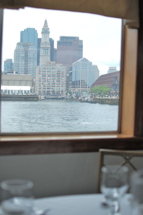 Boston brunch with a view