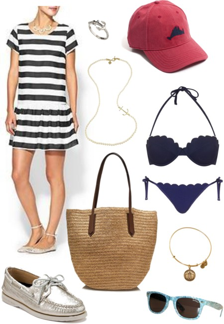 Martha's Vineyard Summer Outfit