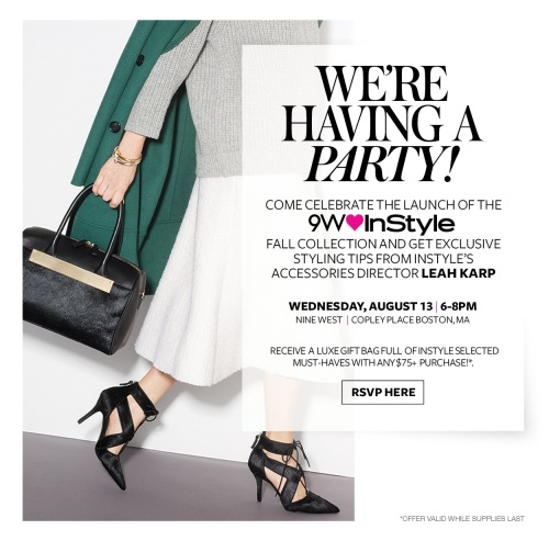 Nine West for InStyle Boston Launch Party