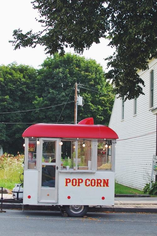 Vintage Popcorn Truck