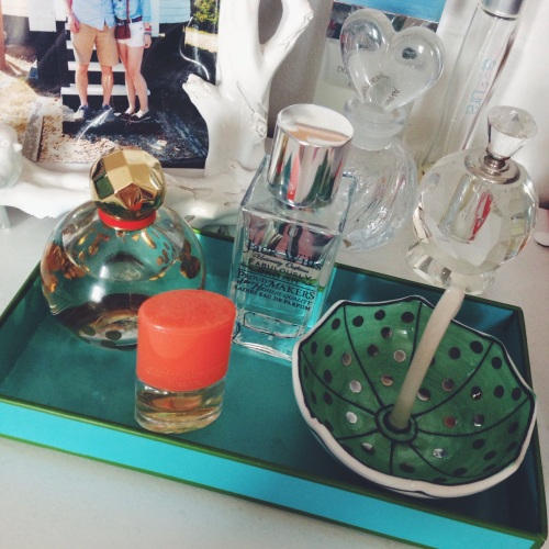 How to display perfume