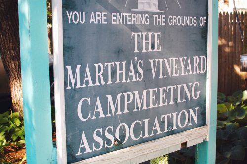 Martha's Vineyard Campmeeting Association Houses
