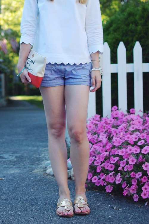 Purple Lavender Shorts