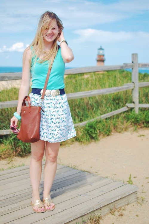 Lilly Pulitzer Oh Buoy Skirt