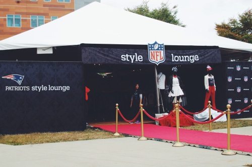 NFL Style Lounge