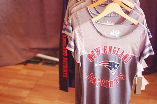 Cute New England Patriots football tees