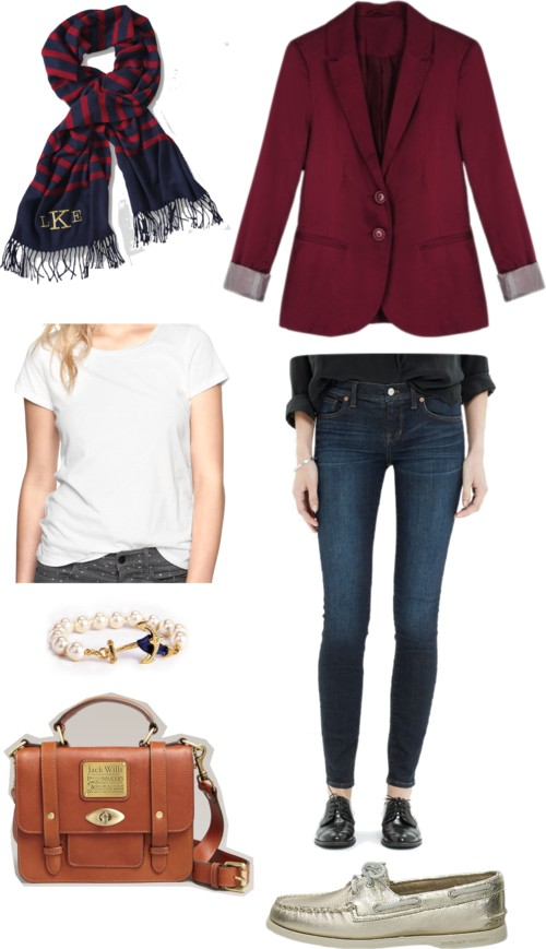 Preppy Fall Regatta Outfit