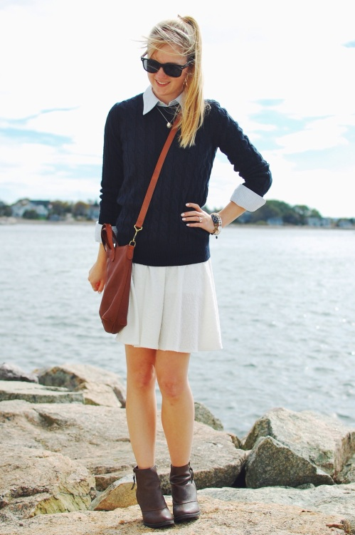 preppy fall new england