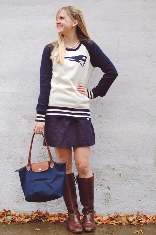 Women's Patriots Sweater