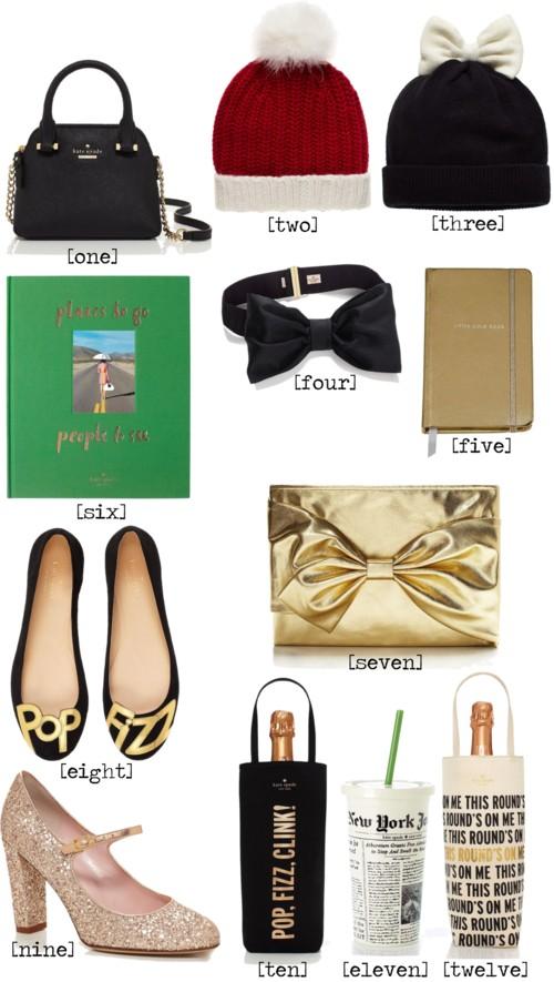 Kate Spade Holiday Hostess Gifts