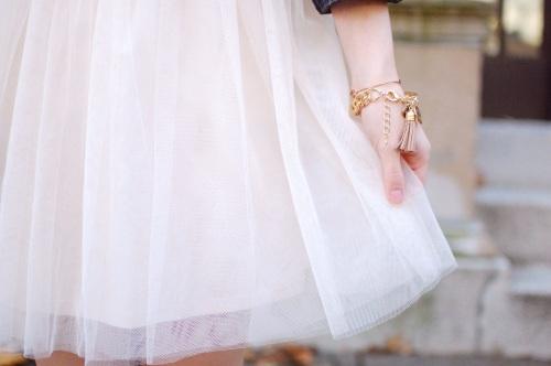 Monogrammed Tassel Bracelet