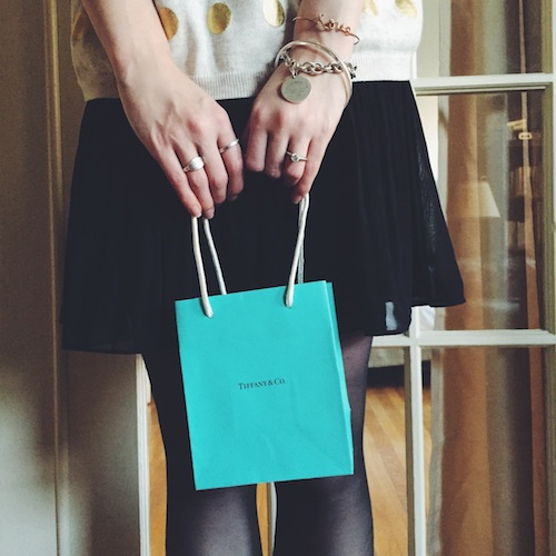 mini tiffany & co bag