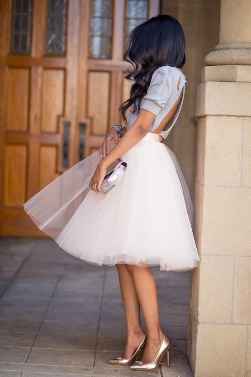 Walk in Wonderland Blog Tulle Skirt