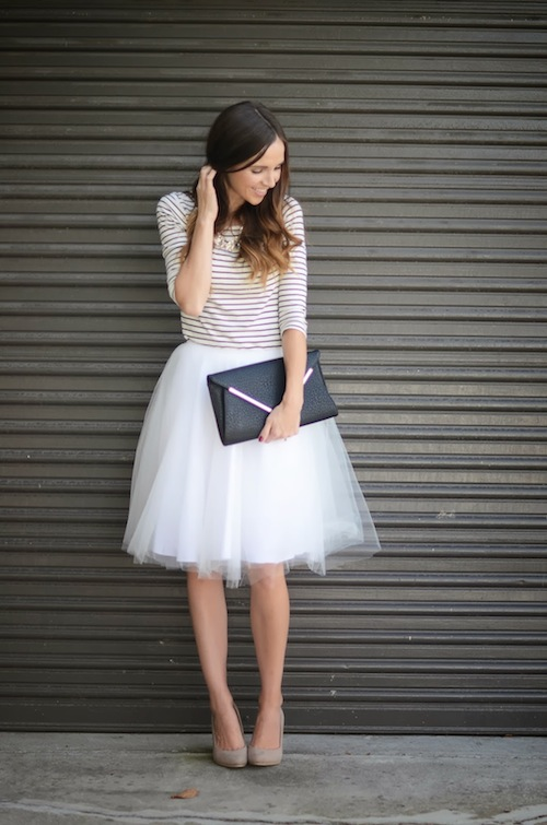Merrick's Art Blog Tulle Skirt