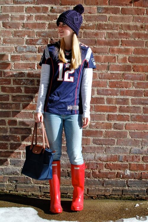 Ren Hunter Wellies; Patriots Fashion