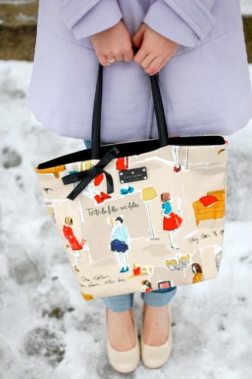 Garance Dore Kate Spade Tote Bag