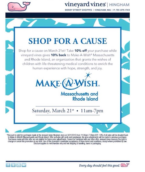 Make a Wish Foundation Massachusetts
